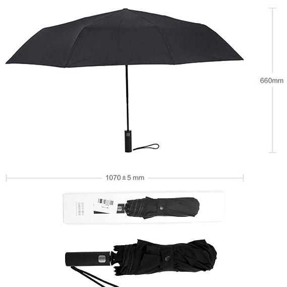965658662ba3 Amazon.com: Mijia Windproof Travel Umbrella Automatic Open Close ...