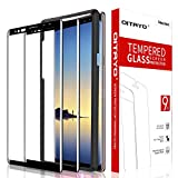 [2 Pack] QITAYO Screen Protector for Samsung Galaxy Note 8, [HD Clear] [Bubble-Free] [Case Friendly] Tempered Glass Screen Protector Compatible with Samsung Galaxy Note 8