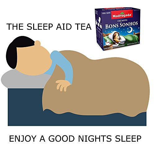 Bedtime Tea For Stress & Insomnia - Herbal Sleep Aid Remedy To Relax & Sleep 30 Tea Bags (Chamomile, Mint, Passion Fruit, Lemon Grass)