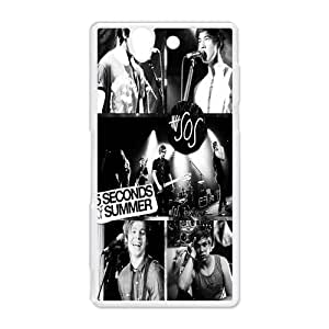 Australian pop rock band 5 seconds of summer,5SOS Sony Xperia Z Hard Plastic White Shell Case Cover (HD image)