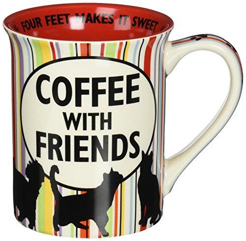 Enesco 4054513 Coffee Friend Multicolor