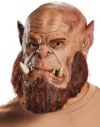 Deluxe Latex Orc Mask (Warcraft: Orgrim Orc Warrior Deluxe Mask)