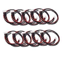 10pcs JST-XH 4S Lipo Balance Wire Extension Lead 30cm