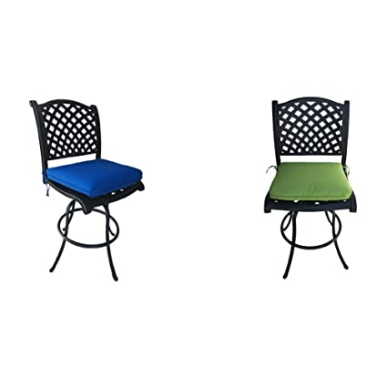 Outstanding Amazon Com Patio Bar Height Bar Stools Armless Outdoor Andrewgaddart Wooden Chair Designs For Living Room Andrewgaddartcom