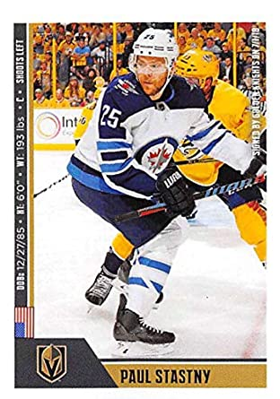 ebbbff711 2018-19 Panini NHL Stickers Hockey  487 Paul Stastny Vegas Golden Knights