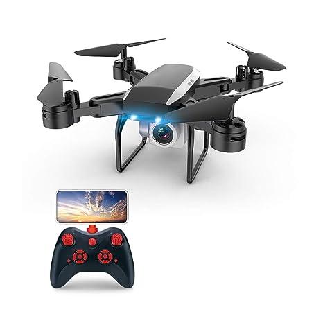 AHangcc Drone con Cámara, 4K HD Drone Plegable con App WiFi FPV ...