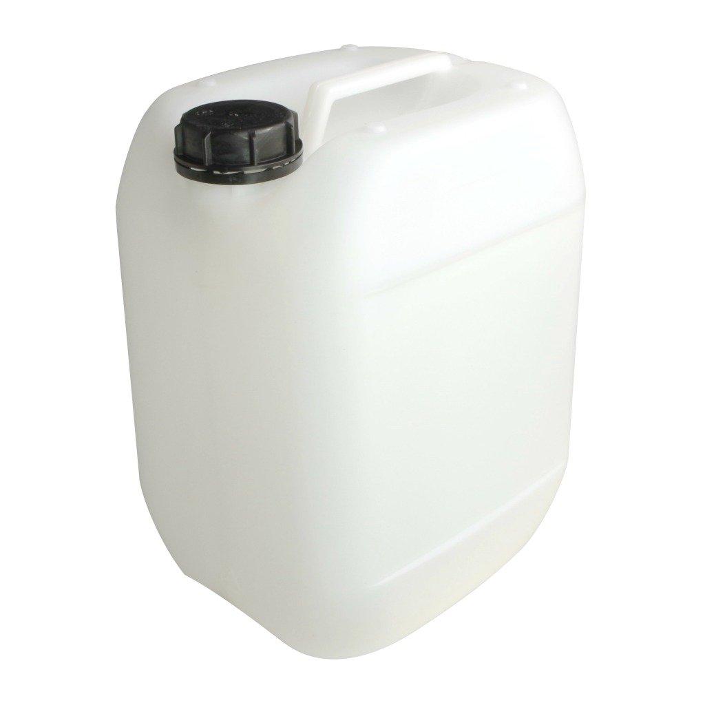 2 x 10 Liter Kanister weiß Camping Outdoor Trinkwasserkanister Ausgießer DIN61