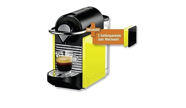 Turmix Cafetera Nespresso TX 160 Pixie Clips Black & Lemon Neon ...
