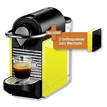 Turmix Cafetera Nespresso TX 160 Pixie Clips Black & Lemon Neon