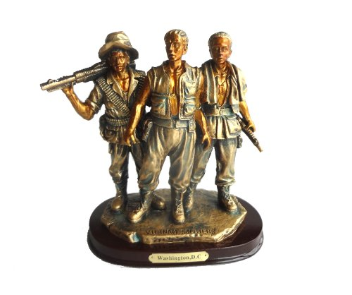 Vietnam Veteran Memorial Statue Figurine: The Three Soldiers (Vietnam Memorial)
