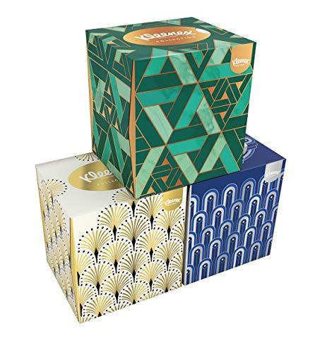 Kleenex Collection Cube Tissues – 576 Tissues – 12 x 48 Stuks – Voordeelverpakking