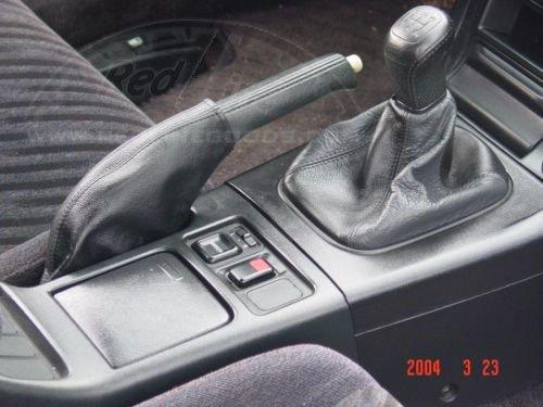 Amazon.com: RedlineGoods Honda Prelude 1992-96 bota/funda para palanca de cambios de: Automotive