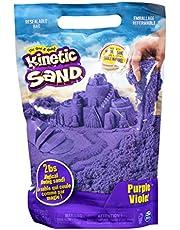 Kinetic Sand, The Original Moldable Sensory Play Sand, Purple, 2 lb. Resealable Bag, Ages 3+