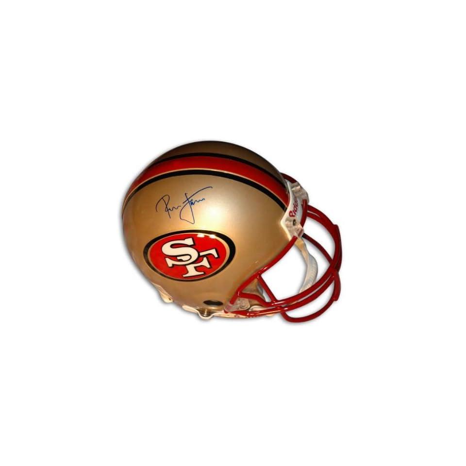 Ronnie Lott Autographed Pro Line Helmet  Details San Francisco 49ers