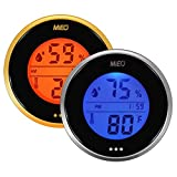 Indoor Thermometer Calibrated Hygrometer with Max Min Memory and Touch Button 2 Colors.Mieo
