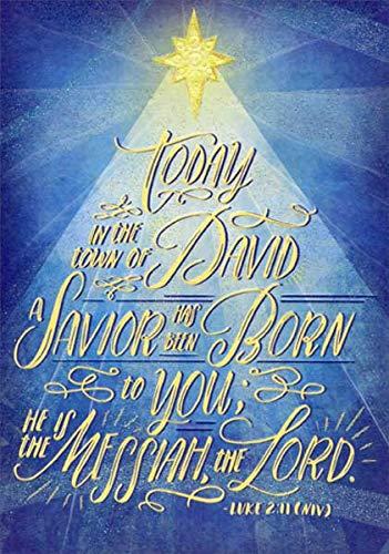 Religious Christmas Images.Amazon Com A Savior Has Been Born Designer Greetings