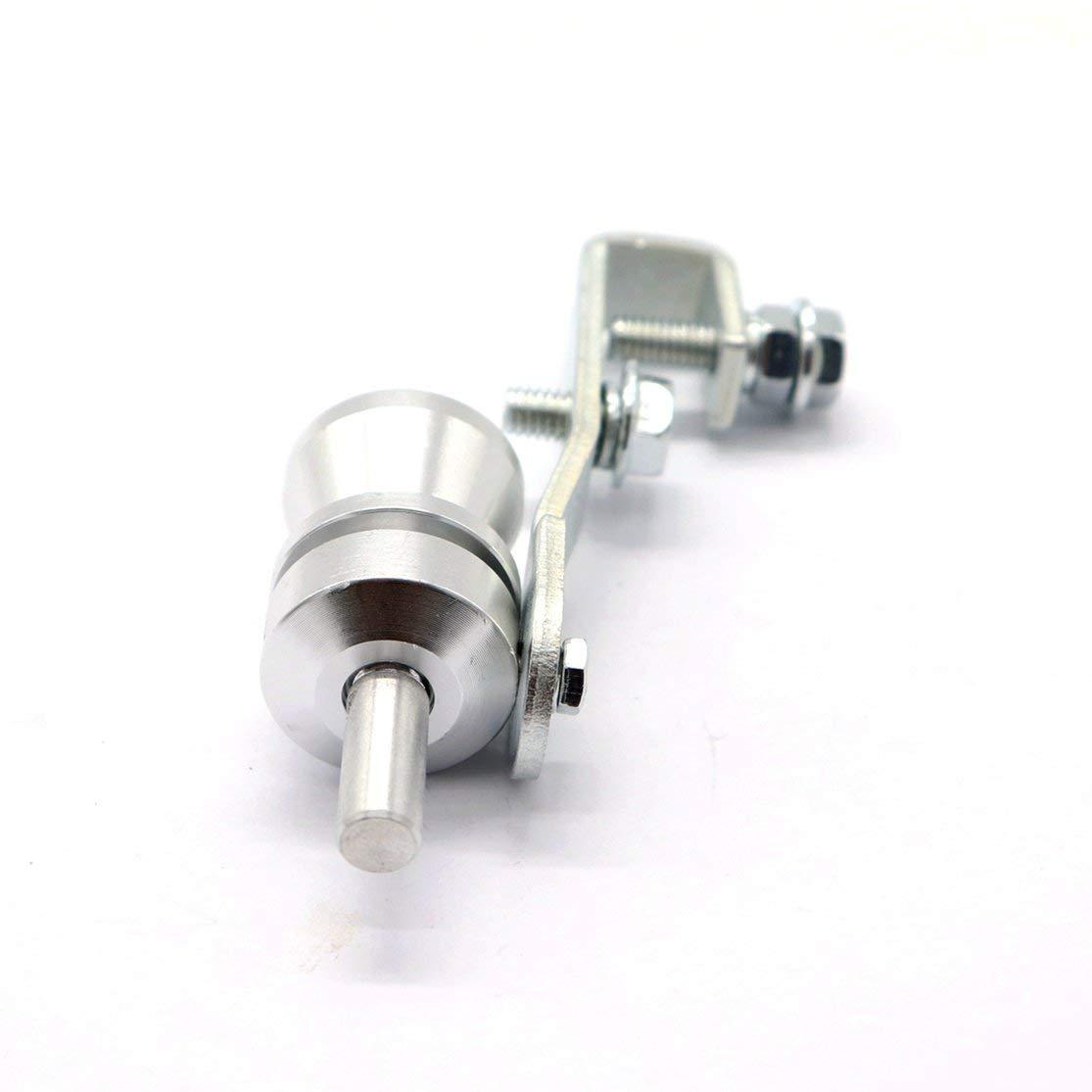 LouiseEvel215 Car Turbo Whistle Silver Universal Fitment per Tutti i Veicoli Modelli Accessori Auto