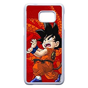 Samsung Galaxy S7 Edge Phone Case White Cartoon Dragon Ball Z Case Cover PP7U362218