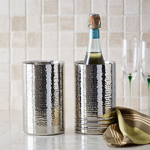 Artisan Set of 2 Tabletop Stainless Steel Wine Bottle Chiller/Coolers by Artisan (Image #2)