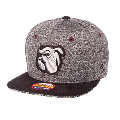(Zephyr NCAA Mississippi State Bulldogs Children Boys Prodigy Youth Snapback Hat, Youth Adjustable, Gray/Team Color)