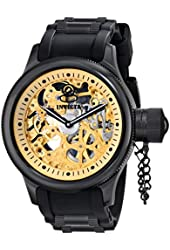 Invicta Men's 17279 Russian Diver Analog Display Mechanical Hand Wind Black Watch