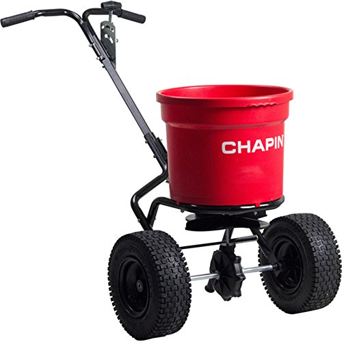 Chapin International 82050C 70LB Chapin Contract Spreader 70 Lb. Hopper Syle, Red