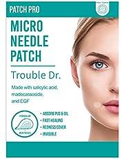 PATCH PRO Trouble Dr. Microneedle Patch Puistjes, acne, onzuiverheden Patch om huidgenezing te stimuleren met Salicylzuur, Madecassoside