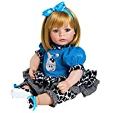 Adora Toddler E.I.E.I.O 20'' Girl Weighted Doll Gift Set for Children 6+ Huggable Vinyl Cuddly Snuggle Soft Body Toy