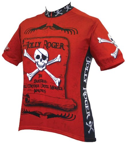 Jolly Roger Bicycle Jersey in X-large ()