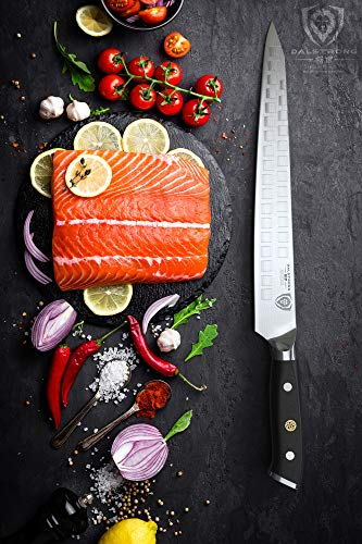 DALSTRONG Slicer Knife - 10.5'' Sujihiki - Shogun Series-Damascus - AUS-10V Japanese Super Steel - w/Sheath - Meats - Fish - Sushi by Dalstrong (Image #4)