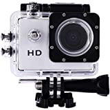 WinnerEco 2.0inch120 Degree Wide-angle Full HD 30M Waterproof Sports Action Camera DV DVR (White)