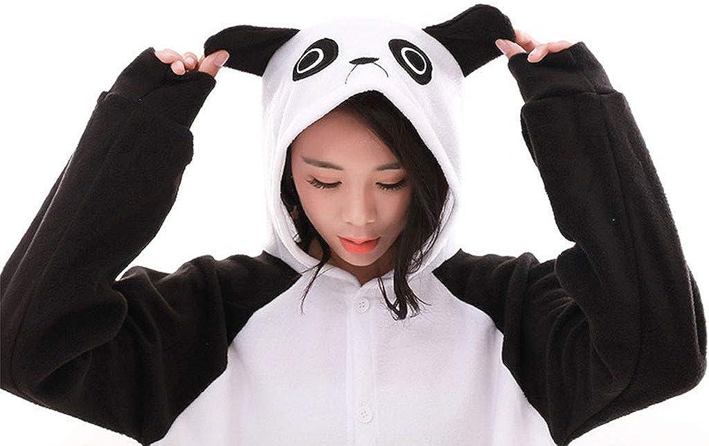 Thenxin Women Onesies Pajamas Cosplay Jumpsuit Panda Sloth Sleepwear Costumes