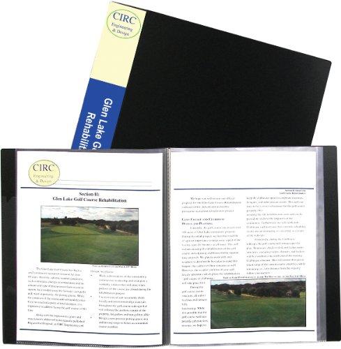 12-Pocket Presentation Book, Black 1 pcs sku# 926020MA