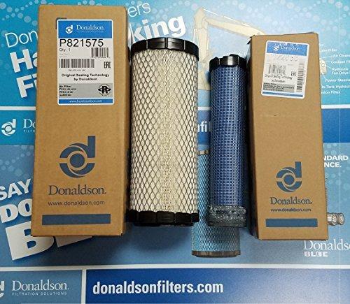 Air Donaldson - DONALDSON P821575 & P822858 AIR FILTER SET FOR DONALDSON FPG05 AIR CLEANERS