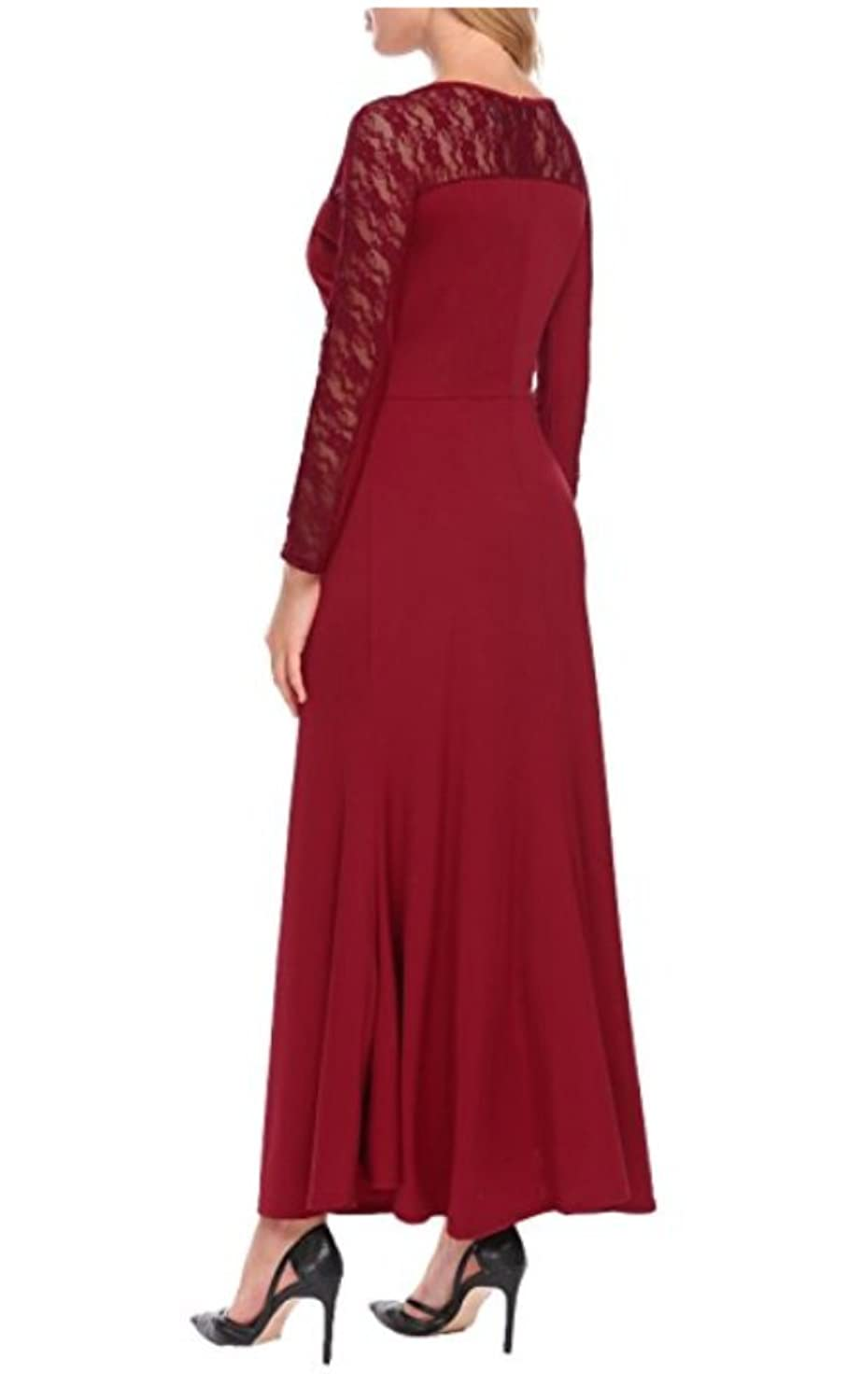 NewFex Womens Beaded High Low Prom Dress Tulle Chiffon Bridesmaid Evening Gown at Amazon Womens Clothing store: