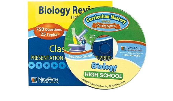 NewPath Learning Biology Review CD-ROM interactivo para ...