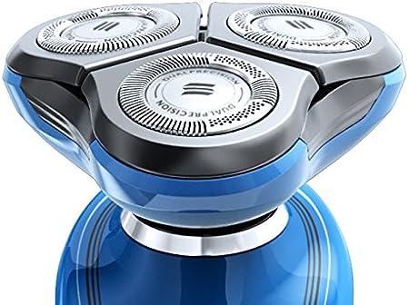 Philips SHAVER 7000 SensoTouch 2D RQ1155 - Afeitadora (Rotación, 3 piezas, Azul, Batería, Ión de litio, 5.4W): Amazon.es: Salud y cuidado personal