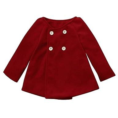 446e95d8b Amazon.com  Kasien Autumn Winter Girls Kids Baby Outwear Cloak ...