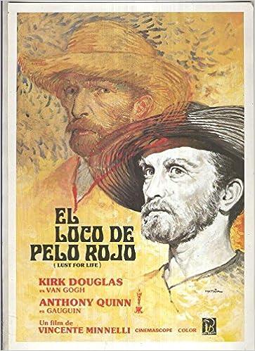 Caratula cine: El loco de pelo rojo (Lust for life ...
