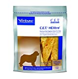 Virbac C.E.T. Hextra Premium Oral Hygiene Chews For Dogs (1 Pouch), X-Large For Sale
