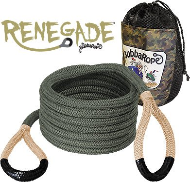 Bubba Rope (176655) Renegade Rope, 3/4'' x 20' (20 Foot) by Bubba Rope