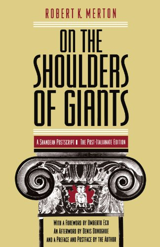 On the Shoulders of Giants: A Shandean Postscript: The Post-Italianate Edition