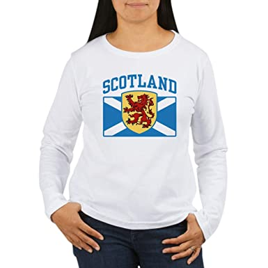 8182e211 CafePress Scotland Women's Long Sleeve T Shirt Women's Long Sleeve T-Shirt,  Classic 100