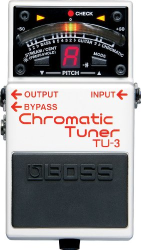 Boss TU3 Chromatic Tuner Pedal from BOSS