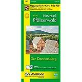 Naturpark Pfälzerwald /Der Donnersberg (WR): Naturparkkarte 1:25 000 mit Wander- und Radwanderwegen (Freizeitkarten Rheinland-Pfalz 1:15000 /1:25000)