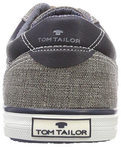 TOM TAILOR 4881506, Náuticos Para Hombre Gris