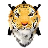VIAHART Authentic Tigerdome Orange Bengal Tiger Animal Head Backpack and Wall Mount | Shipping from Texas