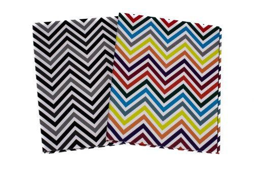 Ultra Pro 4 by 6-Inch Photo Album, Mini, Chevron, (6x6 Mini Scrapbook)