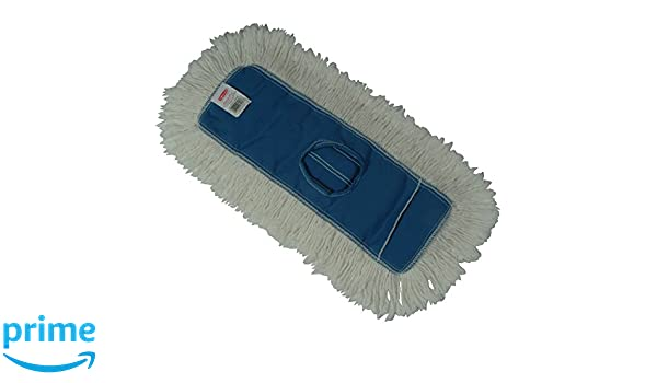 Rubbermaid Commercial Products FGK15200BL00 18-Inch Length x 5-Inch Width Rubbermaid Commercial Kut-A-Way Dust Mop Blue
