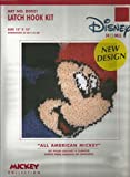 Disney '' Mickey Mouse '' Latch Hook Kit - 13'' x 13''